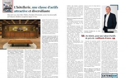 L' hôtellerie, une classe d'actifs attractive et diversifiante.