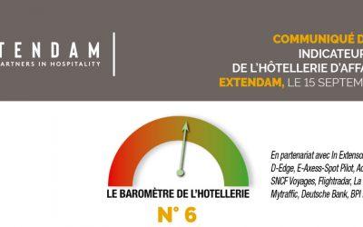 Covid-19 : quel impact sur l'hôtellerie d'affaires en Europe ? 6ème édition du baromètre EXTENDAM