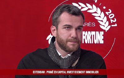 EXTENDAM récompensé au Palmarès des Fournisseurs 2021